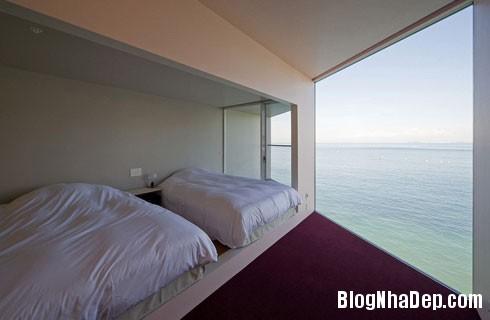 nha nghi tren bien 5 Nhà nghỉ dưỡng hòa mình với thiên nhiên