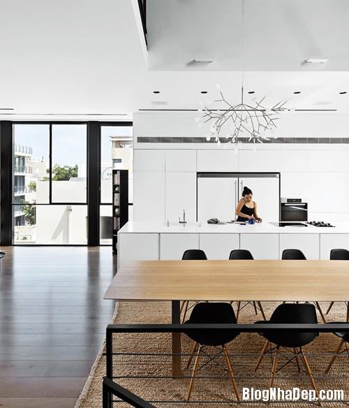 nha pho cao tang dep nhu resort 4 Ngắm ngôi nhà phố hiện đại sáu tầng ở Tel Aviv