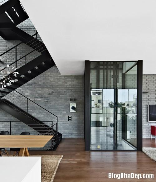 nha pho cao tang dep nhu resort 5 Ngắm ngôi nhà phố hiện đại sáu tầng ở Tel Aviv