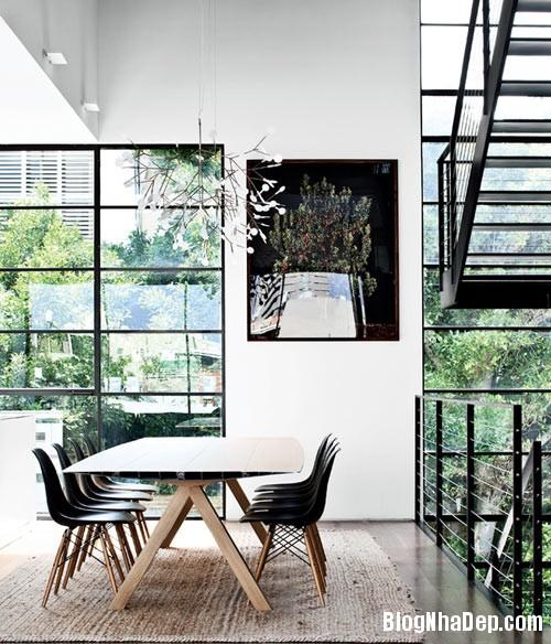 nha pho cao tang dep nhu resort 6 Ngắm ngôi nhà phố hiện đại sáu tầng ở Tel Aviv