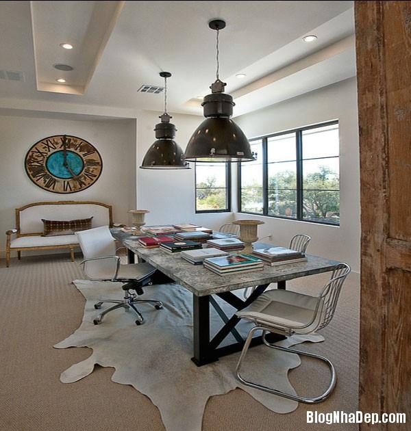 nhung mau ban lam viec hien dai tai nha 13 Tham khảo mẫu bàn làm việc đẹp tại nhà