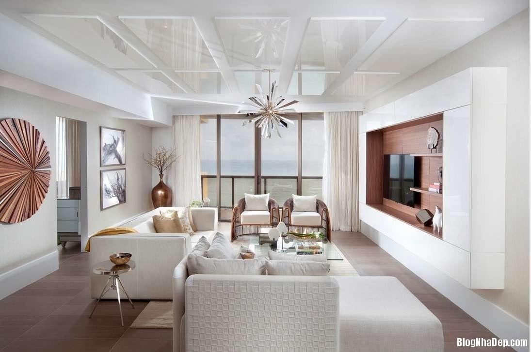 noi that phong khach dep mau trang Cách sử dụng màu trắng trong trang trí nội thất phòng khách