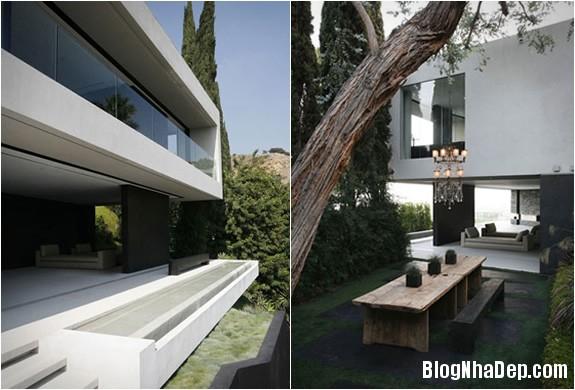 openhousextenarchitecture2 8902c Ngôi nhà mở nằm trên ngọn đồi Hollywood
