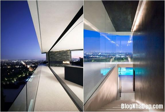openhousextenarchitecture4 0cbfe Ngôi nhà mở nằm trên ngọn đồi Hollywood