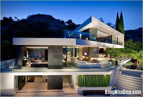 openhousextenarchitecture ffa8a Ngôi nhà mở nằm trên ngọn đồi Hollywood