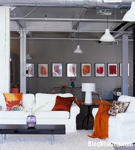 phong khach day cam hung 9 Phòng khách theo phong cách cá tính