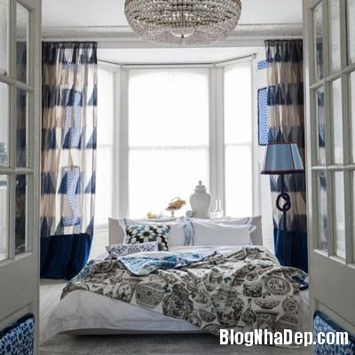 phong ngu mau xanh 1 Đem sắc xanh vào phòng ngủ