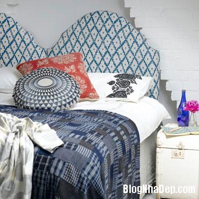 phong ngu mau xanh 5 Đem sắc xanh vào phòng ngủ
