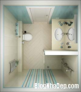phong tam gach mau sang1 266x300 Chọn nội thất đẹp cho phòng tắm nhỏ