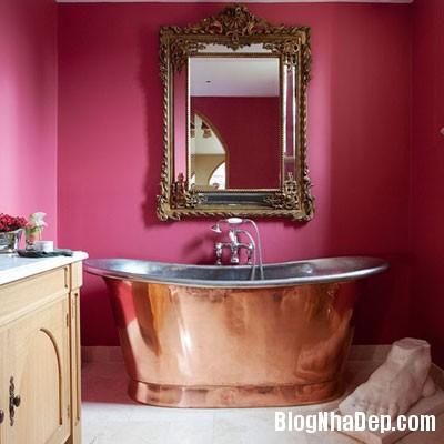 phong tam hang sang 1 Những phòng tắm xa hoa với nội thất hiện đại