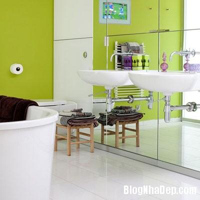 phong tam hang sang 5 Những phòng tắm xa hoa với nội thất hiện đại