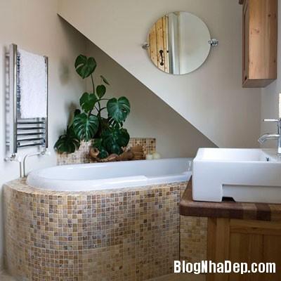 phong tam hang sang 7 Những phòng tắm xa hoa với nội thất hiện đại
