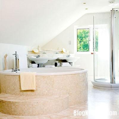 phong tam hang sang 8 Những phòng tắm xa hoa với nội thất hiện đại