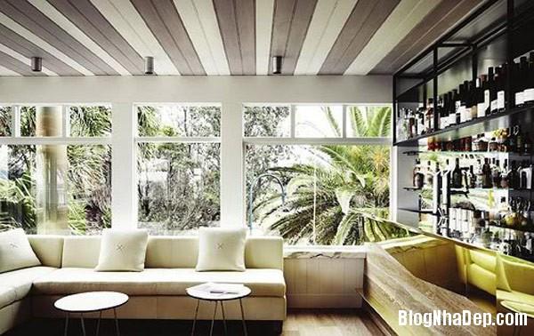 stripes home decor 2 Thiết kế phòng ấn tượng với họa tiết kẻ sọc