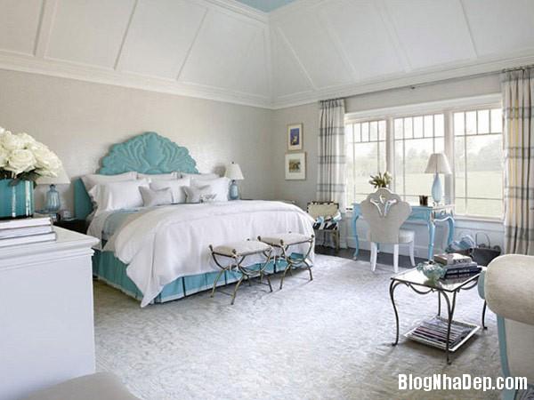 them diem nhan vao noi that phong ngu Thiết kế nội thất phòng ngủ đẹp với màu xám