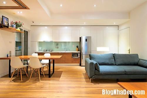thiet ke nha 71m tai dinh cu 4 Mê mẩn với thiết kế căn hộ tái định cư 71m2