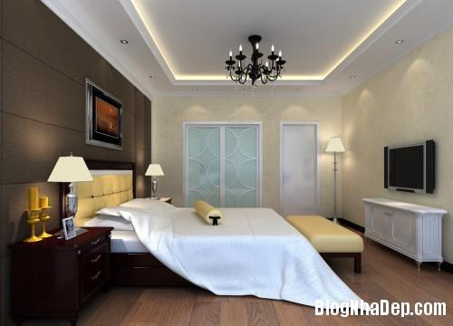 thiet ke noi that phong ngu nha pho 5 Nội thất phòng ngủ cho nhà phố hiện đại