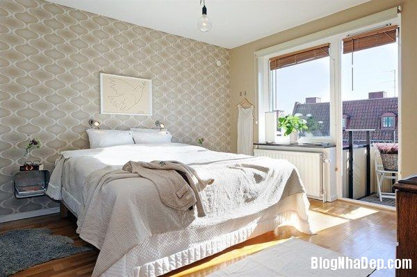 thiet ke noi that phong ngu nha pho 6 Nội thất phòng ngủ cho nhà phố hiện đại