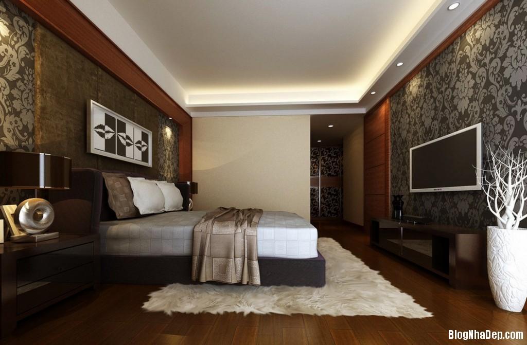 thiet ke phong ngu nha pho 1 1024x671 Nội thất phòng ngủ cho nhà phố hiện đại