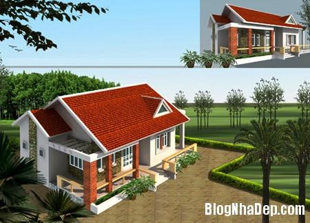 thietkenha1 Xu hướng thiết kế mái nhà hiện đại