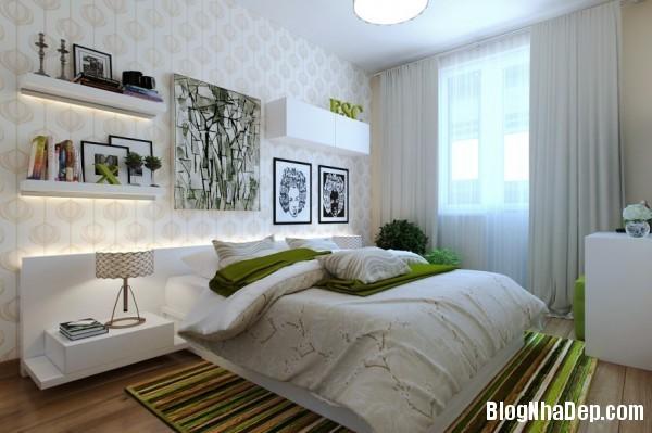trang tri phong ngu 3 Tạo không gian phòng ngủ ấm cúng sang trọng