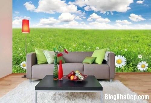 tranhdantuongma04367589171404804337 1405094494 Chọn mẫu giấy dán tường đẹp tô điểm phòng khách