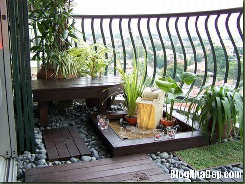 vuon san thuong03 9240 1404458171 Bố trí vườn trên sân thượng