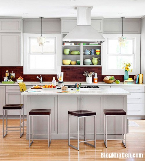 xu huong bep moi 10 Xu hướng thiết kế bếp đang thịnh hành