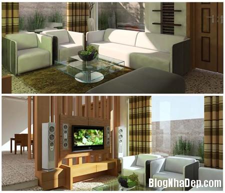 xuhuongsudunggo1 Sử dụng gỗ công nghiệp trong thiết kế nội thất