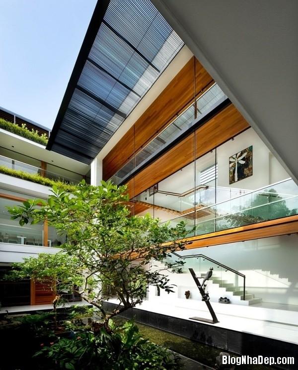 1a4939eb7b59e513257da7d968a61517 Ngôi nhà 2 tầng sang trọng ở Singapore