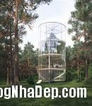375973 a Ngôi nhà tree house độc đáo ở vùng núi Almaty