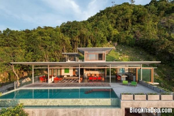5cea6fe91f9dfc3cb662f33b7da8ef82 Không gian nghỉ dưỡng trong ngôi nhà Naked House ở Thái Lan