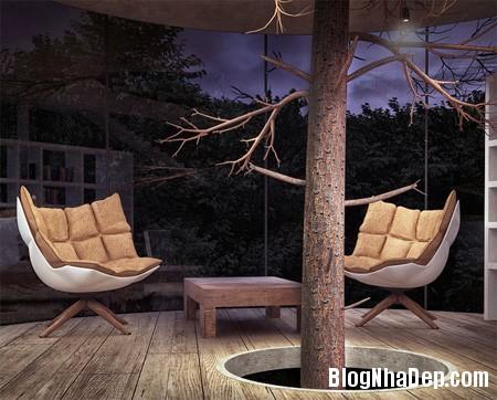 97a7b504cd8481f9afe5fa91c55d267c Ngôi nhà tree house độc đáo ở vùng núi Almaty