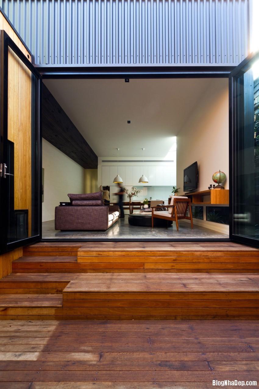 Parure House 05 850x1275 Mẫu nhà phố hiện đại với diện tích vừa phải