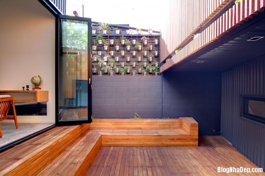 Parure House 06 850x566 Mẫu nhà phố hiện đại với diện tích vừa phải