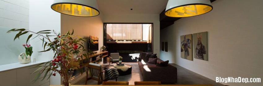Parure House 07 850x278 Mẫu nhà phố hiện đại với diện tích vừa phải