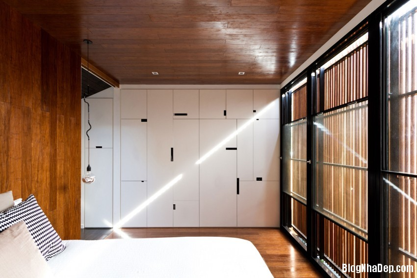 Parure House 21 850x566 Mẫu nhà phố hiện đại với diện tích vừa phải
