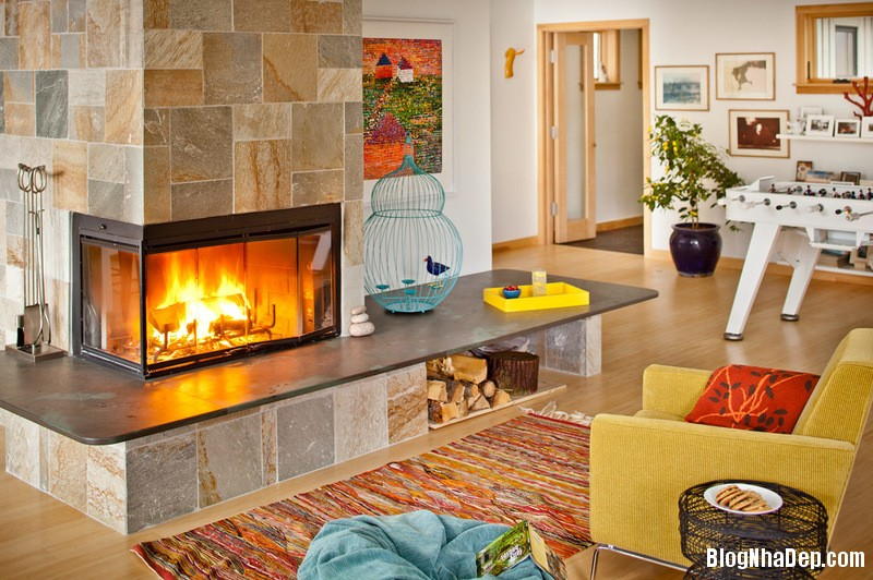 a1 1380535589 Chọn tông màu vàng cho nội thất nhà ở
