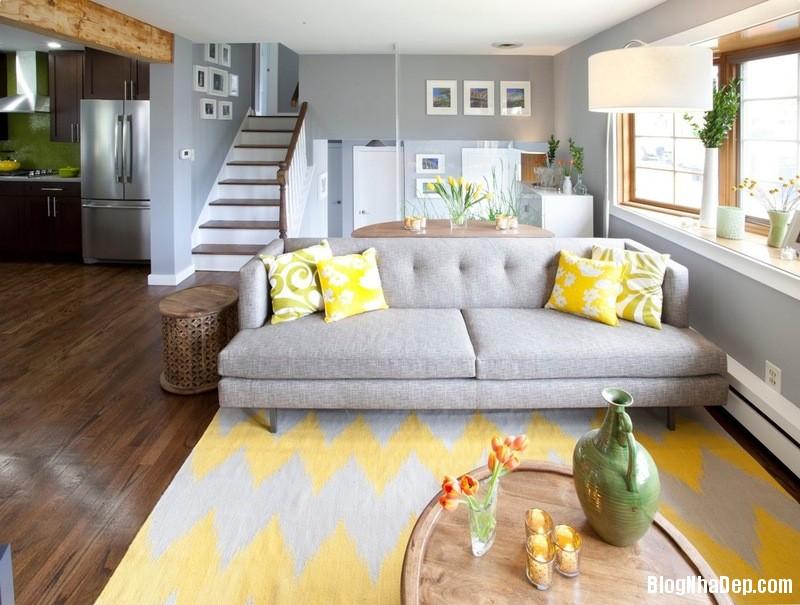 a4 1380535667 Chọn tông màu vàng cho nội thất nhà ở