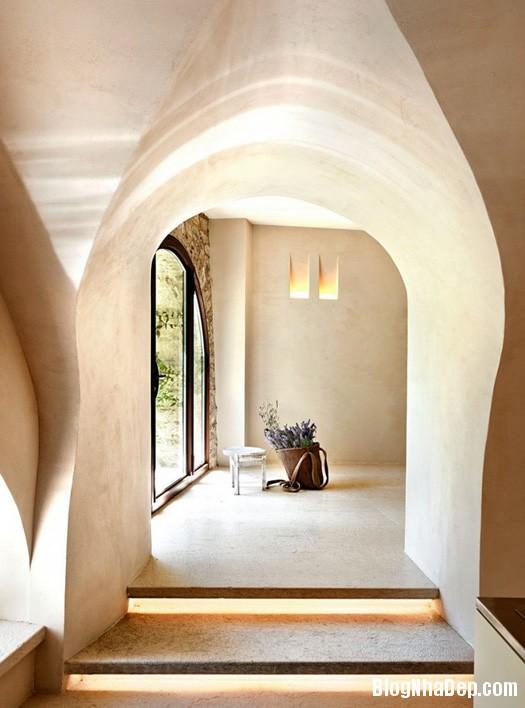 ded76f26ee8c64922261d6b2e3926a70 Thư thái trong ngôi nhà thiết kế như một hang động