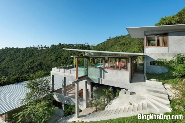 ec373c6f875c1d7dd53ed6ba4fe3206c Không gian nghỉ dưỡng trong ngôi nhà Naked House ở Thái Lan