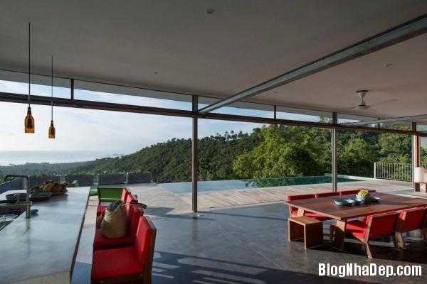 f0d6ea5a49f5bec371fa453c2c60a53f Không gian nghỉ dưỡng trong ngôi nhà Naked House ở Thái Lan