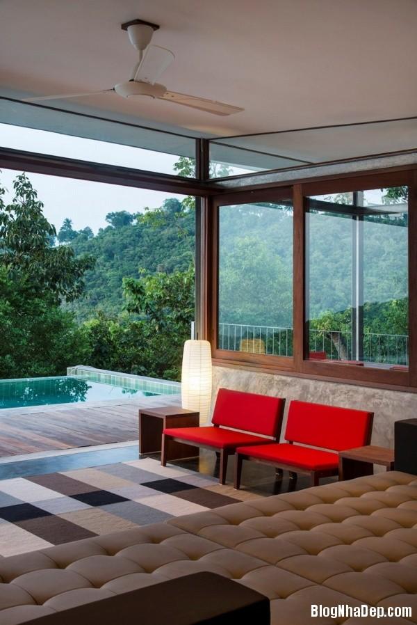 fb6c9024b9e7e447a2b7c900d3fd3a3b Không gian nghỉ dưỡng trong ngôi nhà Naked House ở Thái Lan