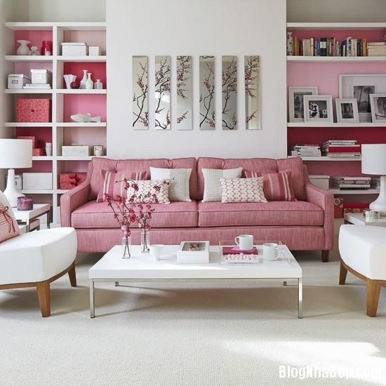 hong 6 1366122318 Nhẹ nhàng nữ tính với gam hồng