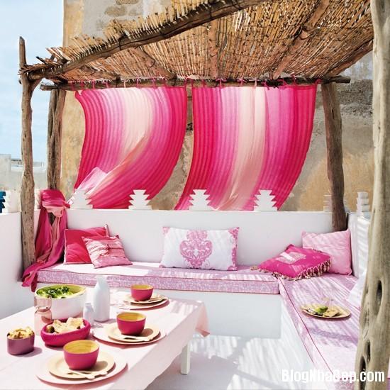 hong 8 1366122377 Nhẹ nhàng nữ tính với gam hồng