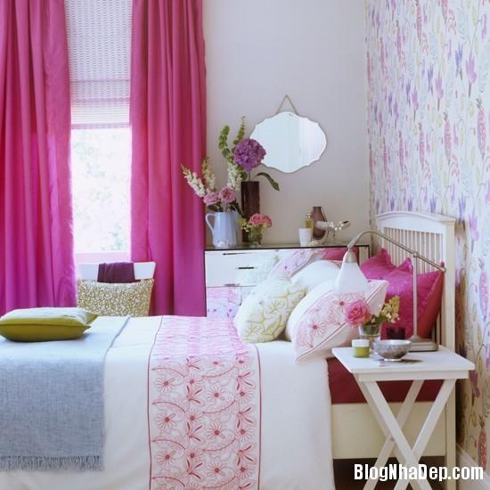 hong 9 1366122388 Nhẹ nhàng nữ tính với gam hồng