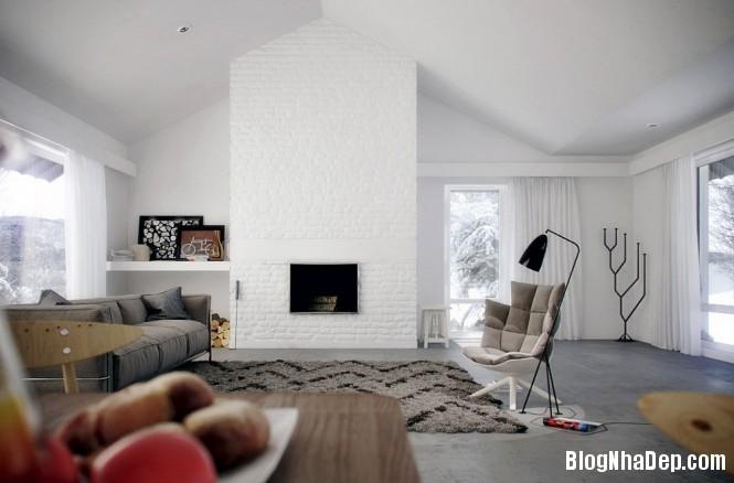 Ngôi nhà đẹp đơn giản với nội thất thân thiện