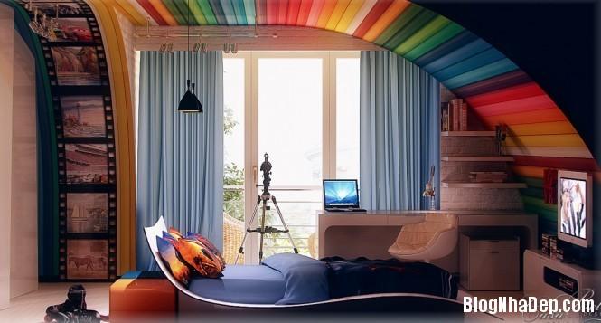 mau sac 1 1348305548 Gợi ý cách phối màu cho phòng của bé