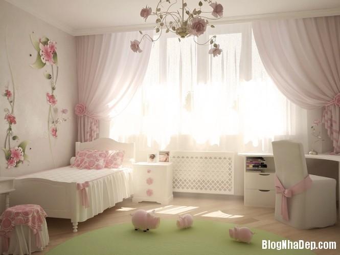 mau sac 10 1348305676 Gợi ý cách phối màu cho phòng của bé
