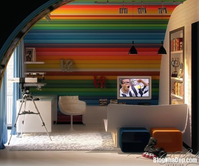 mau sac 2 1348305564 Gợi ý cách phối màu cho phòng của bé